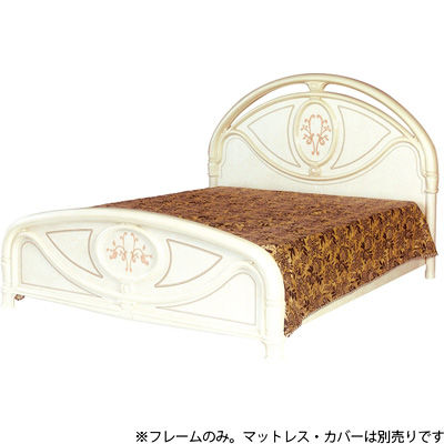 HAGIHARA(ハギハラ) フローレンス ベッド(アイボリー) SFLI-532-IV 5877053200