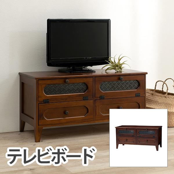 HAGIHARA(ハギハラ) レトロシリーズ TV台 MTV-5189BR 2101843100