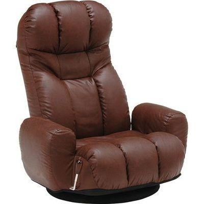 HAGIHARA(ハギハラ) 座椅子(ダークブラウン) LZ-4271DBR 2101855300