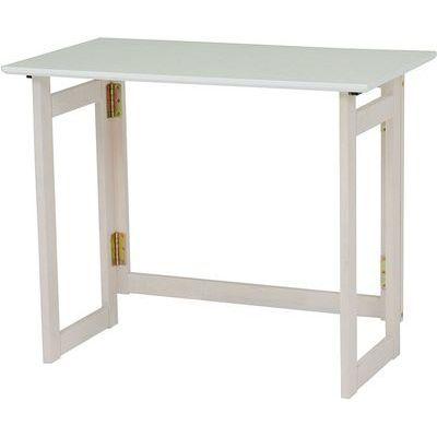 HAGIHARA(ハギハラ) 折りたたみテーブル(ホワイトウォッシュ) VT-7812WS 2090919200【納期目安:01/中旬入荷予定】