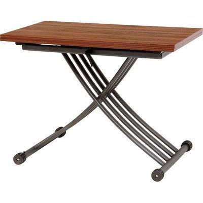 HAGIHARA(ハギハラ) エクステンション昇降テーブル(ブラウン) KT-3196BR 2090911400