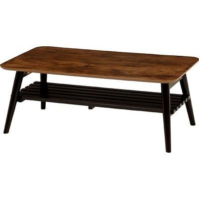 HAGIHARA(ハギハラ) 折れ脚テーブル(アンティークブラウン) MT-6921AB 2090912200