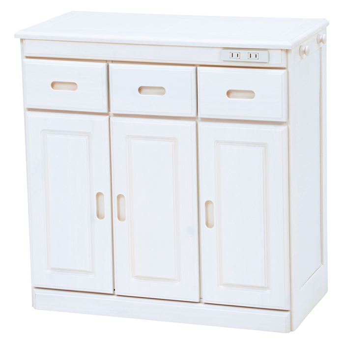 HAGIHARA(ハギハラ) キッチンカウンター(ホワイトウォッシュ) MUD-6521WS 2101820800