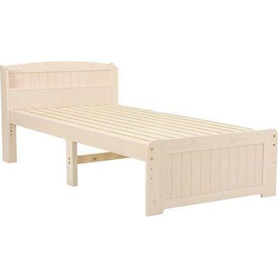 HAGIHARA(ハギハラ) シングルベッド(ホワイトウォッシュ) MB-5905S-WS 2101846600