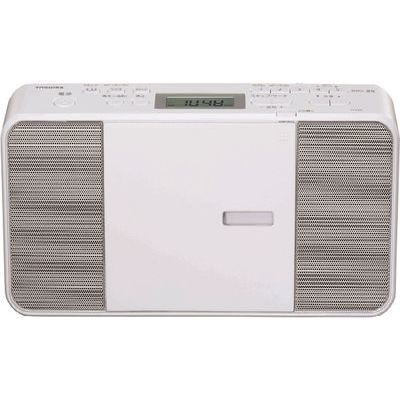 東芝 CDラジオ ホワイト TY-C251-W【納期目安:1週間】