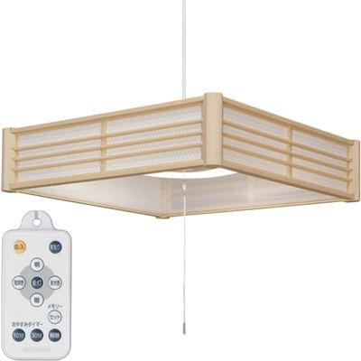 アイリスオーヤマ LED和風 ペンダントライト調色 12畳 PLM12DL-KG【納期目安:1週間】