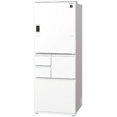 シャープ プラズマクラスター冷蔵庫 (ピュアホワイト) SJ-WA50E-W【納期目安:約10営業日】