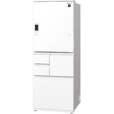 シャープ プラズマクラスター冷蔵庫 (ピュアホワイト) SJ-WA55E-W【納期目安:2週間】