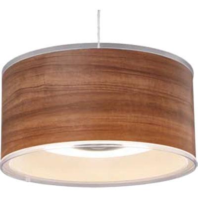 アイリスオーヤマ LEDデザインペンダントライト深型 調光 12畳 (ウォールナット) PLM12D-FDWN【納期目安:1週間】