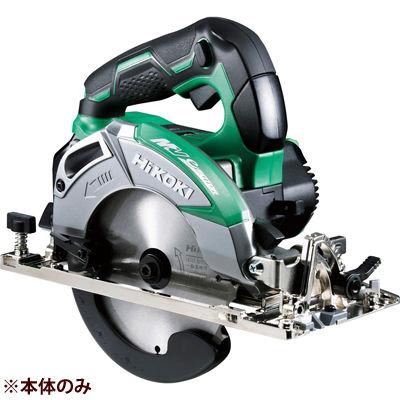 HiKOKI(日立工機) コードレス丸のこ(本体のみ。蓄電池・充電器・ケース別売。※無線連動機能あり) C3605DC-(NNS)