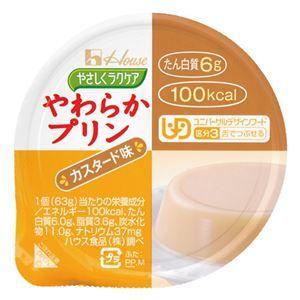その他 (まとめ) ハウス食品 やわらかプリン カスタード味(48入)【×3セット】 ds-2157495