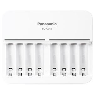 その他 (まとめ) Panasonic 単3単4ニッケル水素電池専用充電器 BQ-CC63【×3セット】 ds-2158469