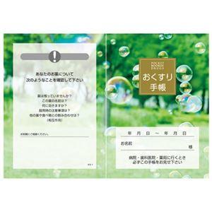 その他 (まとめ)おくすり手帳 KS-1 100冊【×3セット】 ds-2158969