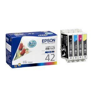 その他 (まとめ) エプソン インクカートリッジ IC4CL42 4色【×3セット】 ds-2159457