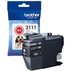 その他 (まとめ) ブラザー インクカートリッジLC3111BK【×10セット】 ds-2159498