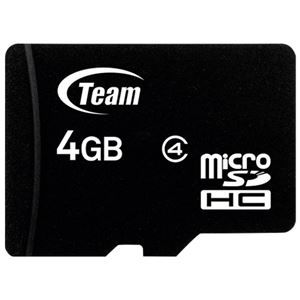 その他 (まとめ) TEAM microSDHCカード 4GB TG004G0MC24A【×10セット】 ds-2159545