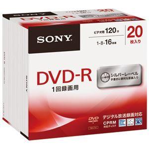 その他 (まとめ) ソニー 録画用DVD‐R 20枚 20DMR12MLDS【×5セット】 ds-2159617