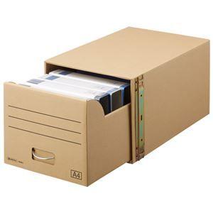 その他 (まとめ) スマートバリュー 書類保存キャビネット A4判用*1個 D089J【×5セット】 ds-2159790