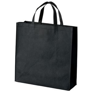 その他 (まとめ) スマートバリュー 不織布手提げバッグ小10枚ブラックB450J-BK【×10セット】 ds-2159792