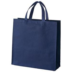 その他 (まとめ) スマートバリュー 不織布手提げバッグ小10枚ブルー B450J-BL【×10セット】 ds-2159794