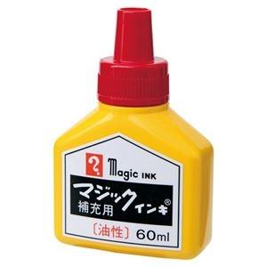 その他 (まとめ) 寺西化学工業 マジック補充インキ60ml 赤 MHJ60B-T2【×30セット】 ds-2159982