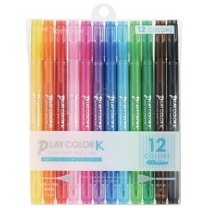 その他 (まとめ) トンボ鉛筆 プレイカラーK 12色セット GCF-011【×10セット】 ds-2160013
