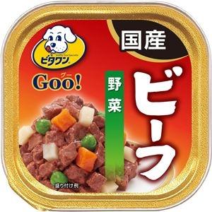 その他 (まとめ)ビタワン グー ビーフ 野菜 100g【×96セット】【ペット用品・犬用フード】 ds-2161933
