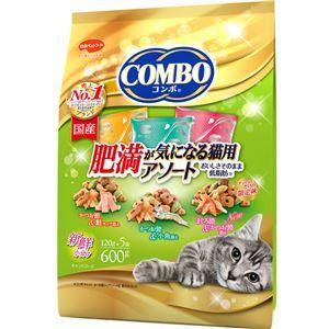 その他 (まとめ)コンボ キャット 肥満が気になる猫用アソート 600g【×12セット】【ペット用品・猫用フード】 ds-2161960