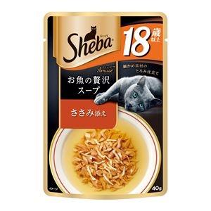 その他 (まとめ)シーバ アミューズ 18歳以上 お魚の贅沢スープ ささみ添え 40g【×96セット】【ペット用品・猫用フード】 ds-2162266