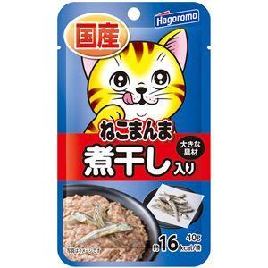 その他 (まとめ)ねこまんまパウチ 煮干し入り 40g【×72セット】【ペット用品・猫用フード】 ds-2162308