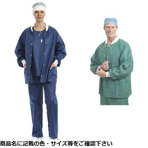 メンリッケヘルスケア バリアー ウォームアップジャケット 28010(M)ブルー48マイ CMD-00874638【納期目安:1週間】