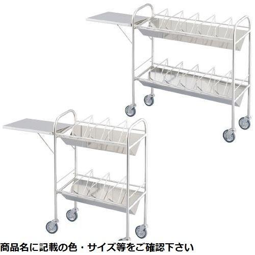 松吉医科器械 カルテワゴン(小)袖付 MY-2701 01-2722-00【納期目安:1ヶ月】