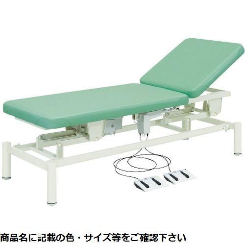 その他 高田ベッド製作所 電動診察台(2M電動ベッド) TB-949(W65XL190cm) ビニルレザーライトグリーン CMD-0087156005【納期目安:2週間】