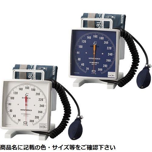 ケンツメディコ 大型アネロイド血圧計(卓上型)Wカフ NO.543(ブルー)Wカフ 24-3263-01【納期目安:1週間】