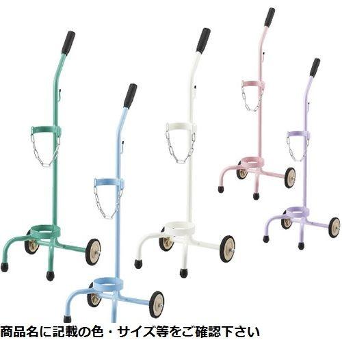 松吉医科器械 カラーボンベカートC(500L・1本 MY-1245P(ピンク) CMD-00872882【納期目安:1週間】