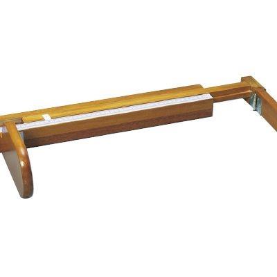 その他 乳児用三ツ折型身長計(木製) H×3(90cm) 23-6882-00【納期目安:1週間】