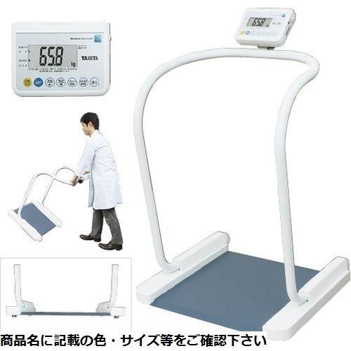 タニタ ハンドレール付体重計(検定品) PH-550A(RSツキ) 11区仕様 23-6886-0111【納期目安:1週間】