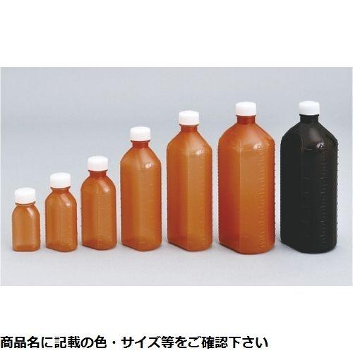 その他 エムアイケミカル 投薬瓶PPB茶(滅菌済) 60CC(15ホン×20フクロ入り) キャップ:透明 08-2865-0206【納期目安:1週間】