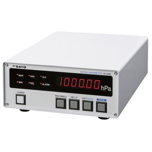 その他 デジタル気圧計 SK-500B 24-6272-00【納期目安:1週間】
