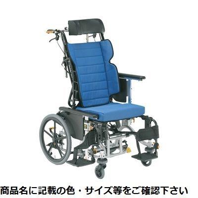 その他 松永製作所 車いす マイチルトリジッド3D MH-RD3D ブルー(F-2) 24-6621-0002【納期目安:1週間】
