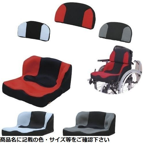 タカノ 座位保持クッションLAPS(ラップス TC-L01(ザイホジヨウ) レッド CMD-0087279201【納期目安:1週間】