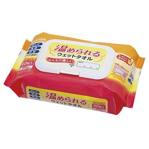 東京サラヤ 【24個セット】温められるウェットタオル 42442(40枚) CMD-00877607
