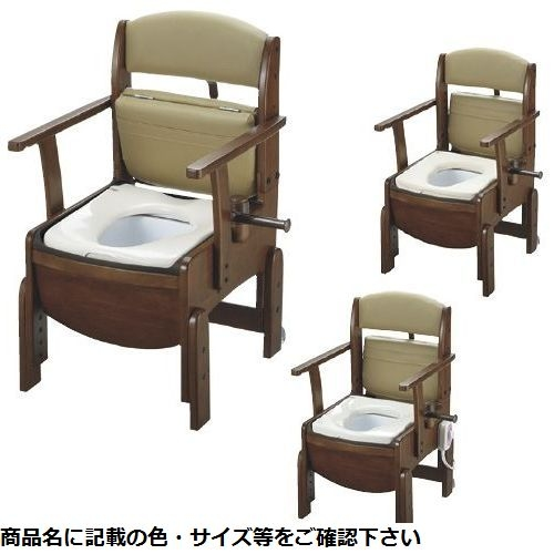 リッチェル 木製トイレ きらくコンパクト 18520(ヤワラカベンザ) CMD-00871341【納期目安:1週間】