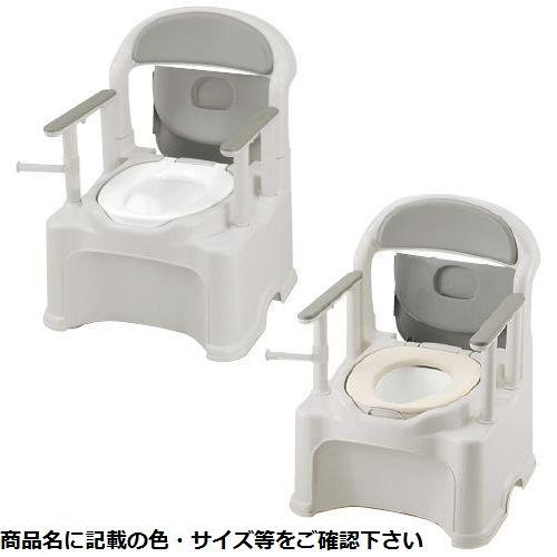 リッチェル ポータブルトイレ きらくPY2型 47540(ヤワラカベンザ) 23-6277-01【納期目安:1週間】