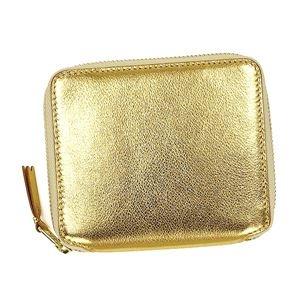 その他 COMME des GARCONS(コムデギャルソン) 2つ折小銭付き財布 SA2100G GOLD ds-2155211