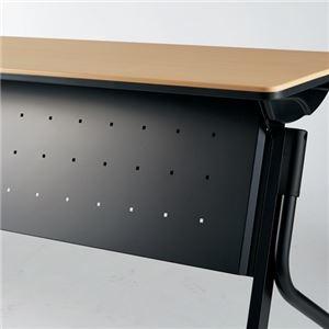 その他 【幕板のみ】プラス 会議テーブル リネロ2 幕板 ブラック LD-M1500 BK ds-2166529