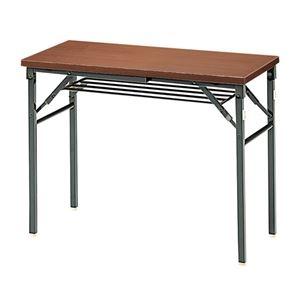 その他 ジョインテックス 脚折りたたみテーブル TWS-M0945WN 天板:ウォールナット ds-2166544