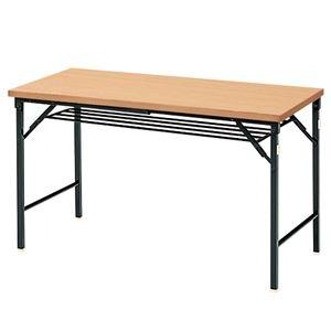 その他 ジョインテックス 脚折りたたみテーブル TWS-M1245NA 天板:ナチュラル ds-2166547
