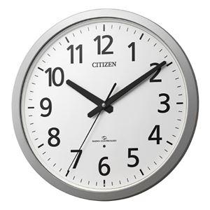 その他 リズム時計 シチズン電波掛時計 4MY855-019 ds-2167074