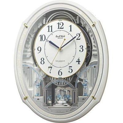 リズム時計 スモールワールドアルディN(白パール) 4MN553RH03